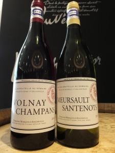 ヴォルネー プルミエクリュ シャンパン 11 &ムルソー プルミエクリュ サントノ 11 マルキ・ダンジェルヴィル