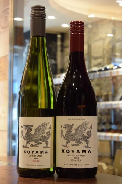 コヤマ セントラル・オタゴ リースリング 13 & コヤマ ワイパラワインズ ピアソンズヴィンヤード ピノノワール 1