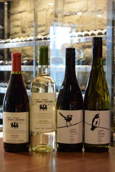 スリーシーヴズ ピノ・ノワール 12 ・ピノ・グリージョ 13 & ウィマーラ ピノ・ノワール ・ リースリング ローガン・ワインズ 13
