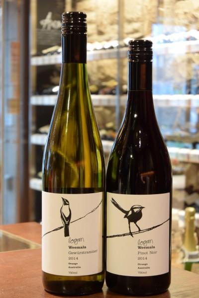 ウィマーラ ゲヴュルツトラミネール 11  ローガン・ワインズ & ウィマーラ ピノ・ノワール  ローガン・ワインズ 13