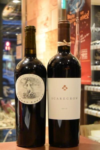 ハーランエステイト レット・ワイン 11  & スケアクロウ カベルネソーヴィニヨン 12
