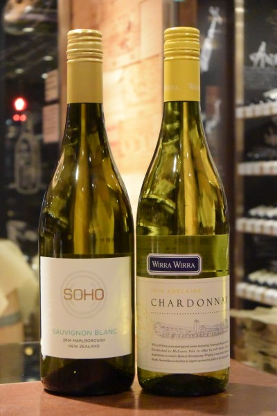 ソーヴィニヨン・ブラン 14 ソーホー・ワイン・コー  &  アデレード シャルドネ 14 ウィラ・ウィラ・ヴィンヤーズ