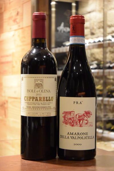 チェッパレッロ 11 イゾレ・エ・オレーナ & アマローネ デッラ ヴォリチェッラ 09 プラ