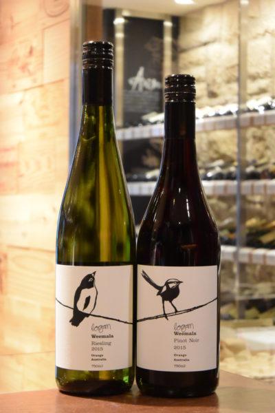 ウィマーラ リースリング ローガン・ワインズ 15 &ウィマーラ ピノ・ノワール  ローガン・ワインズ 13